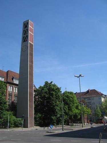 Vaterunserkirche, Wilmersdorf, 1959-1961