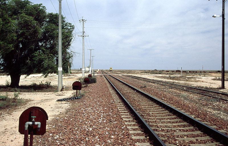 World's Longest Straight Stretch of Train Track