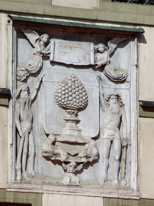Coat of arms on the city hall - Augsburg