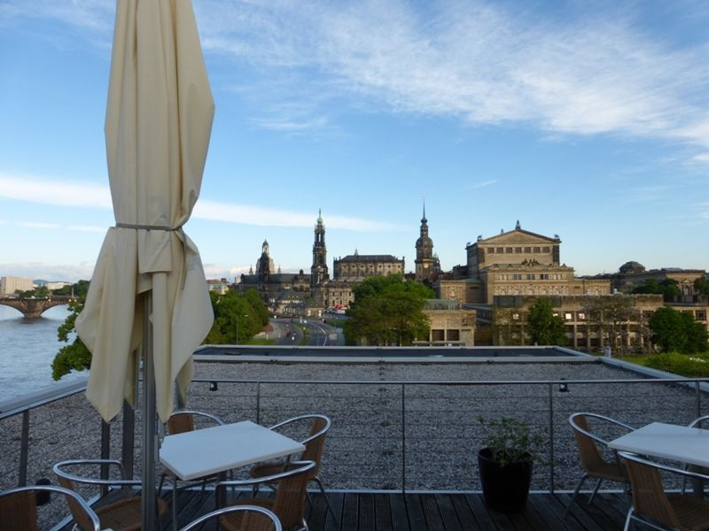 Rooftop terrace - Dresden