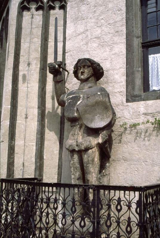 Roland statue - Quedlinburg