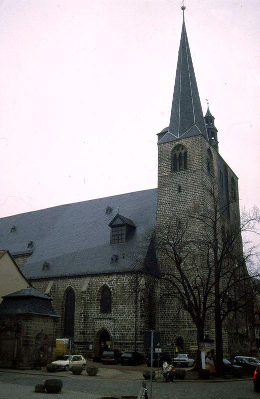 Marktkirche St. Benedicti - Quedlinburg