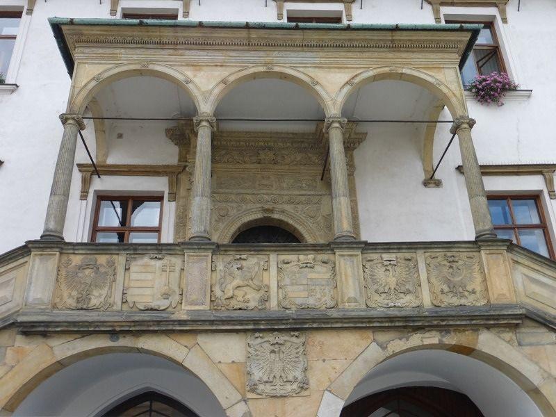 Renaissance loggia - Olomouc