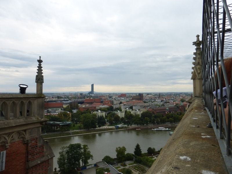 View from the steeple of the cathedral - Wroclaw