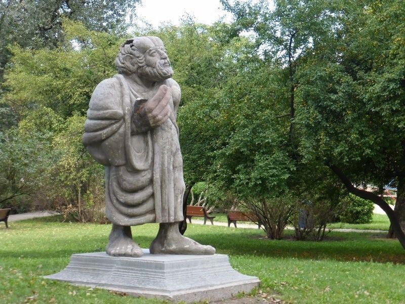 Socrates statue - Wroclaw