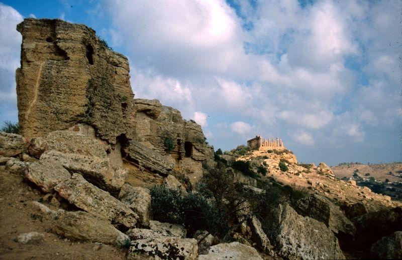 Ancient temples in Agrigento - Sicilia