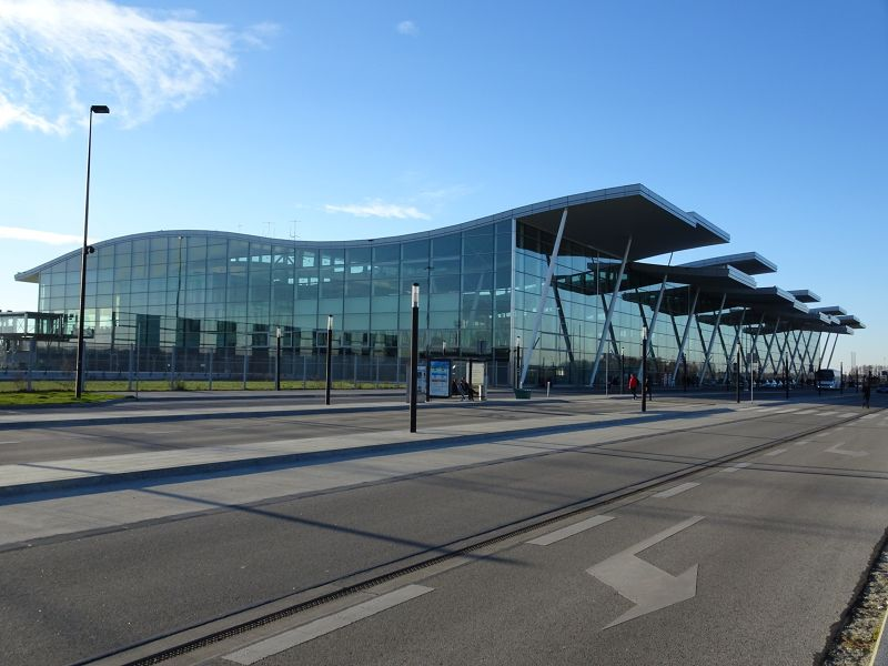 The new terminal building - Wroclaw