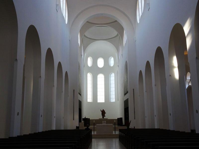 Moritzkirche: Suprising Interior
