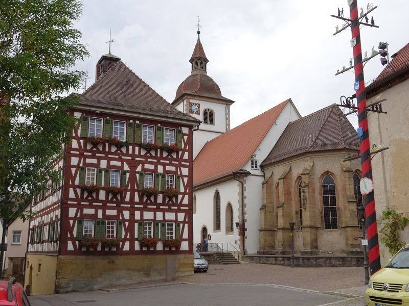 Protestant Church of St Leonhard