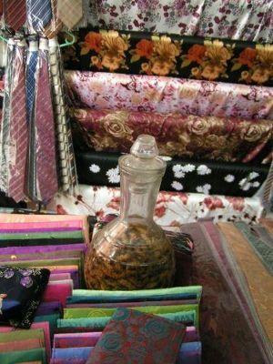 Silk and Silk Worms - Hanoi