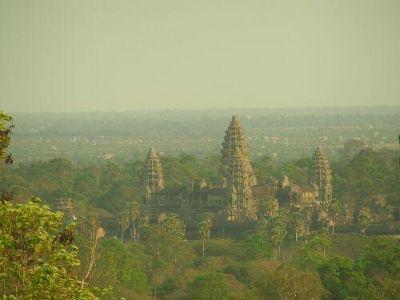 Angkor Wat seen from Phnom Bakheng - Angkor Wat