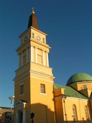 A church in Oulu - Oulu