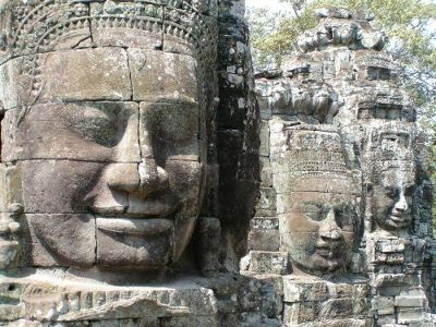 Big Brother is watching you - Angkor Wat