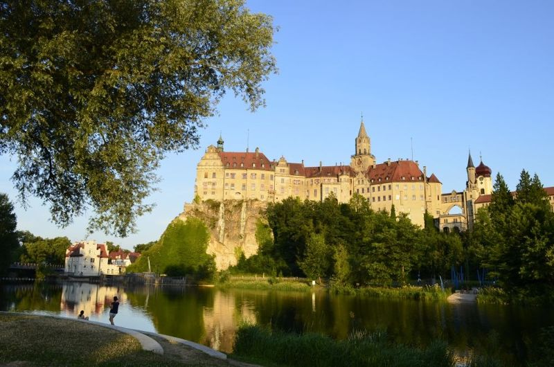 Sigmaringen's main sight: the castle - Sigmaringen