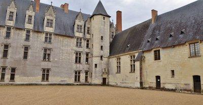 Château du Plessis-Bourré - interior courtyard