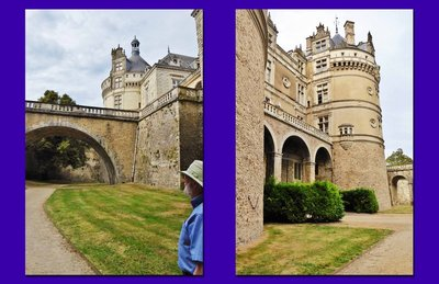 Château du Lude - two pictures