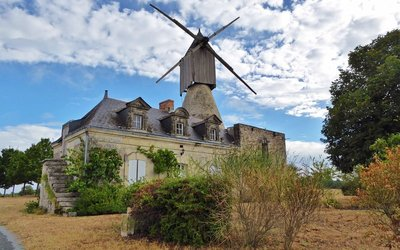 The Windmill near Brissac