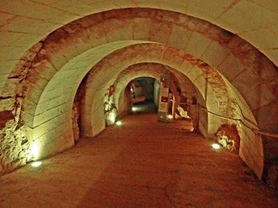 Château de Brézé underground