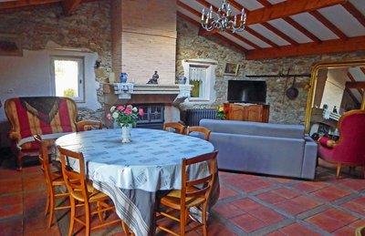 Le Moulin des Landes, our lovely living room