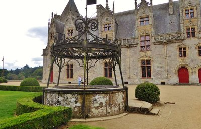 Château de Josselin, the well