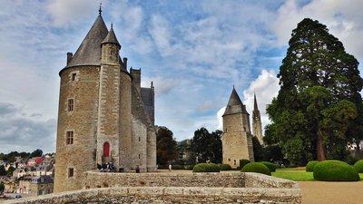 Château de Josselin and the tower