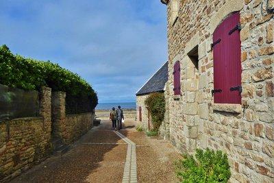Road to Plage St. Michel in Piriac-sur-Mer