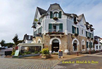 Hotel de la Poste in Piriac-sur-Mer