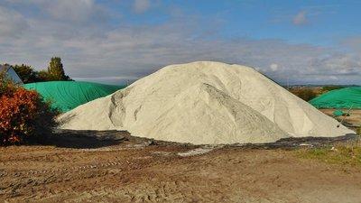 Mountains of salt near Batz-sur-Mer