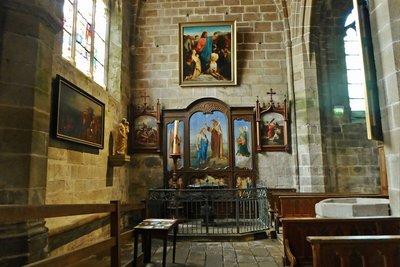 Interior Église Notre-Dame de Pitié du Croisic