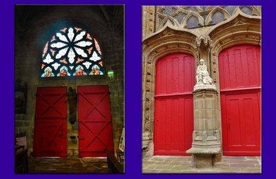Doors of Église Notre-Dame de Pitié du Croisic