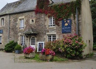 L'Ancolie Restaurant in Rochefort-en-Terre in Brittany