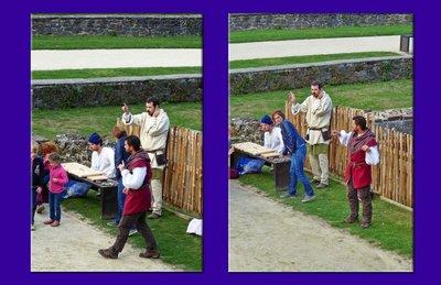 Story-tellers at the Château de Fougères