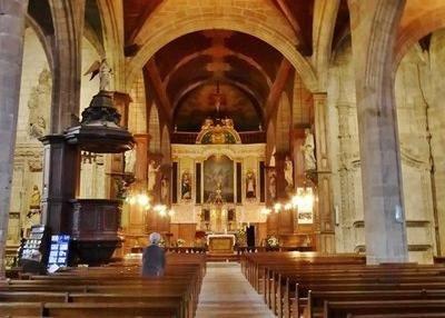 Eglise Saint Sulpice in Fougères