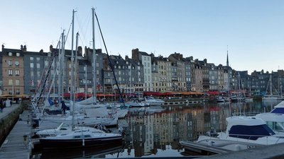 Evening on Honfleur Harbor