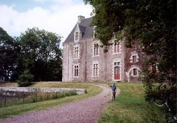 Château du Comper and Arthurian Center near Paimpont