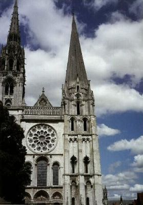 Chartres Cathedral in Chartres