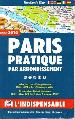 2014 Paris Pratique map booklet