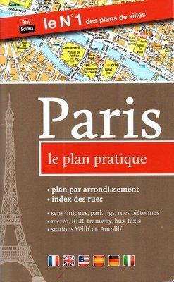 2016 Paris Pratique map booklet