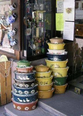 Painted Bakeware - Obernai