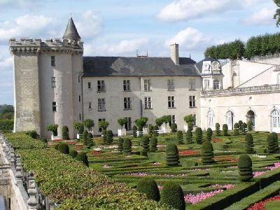 Château de Villandry in the Loire Valley