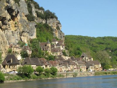 La Roque Gageac, a Plus Beau Village on the Dordogne River