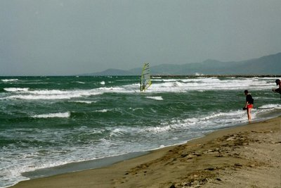 Canet-Plage, the beach at Canet-en-Roussillon, France