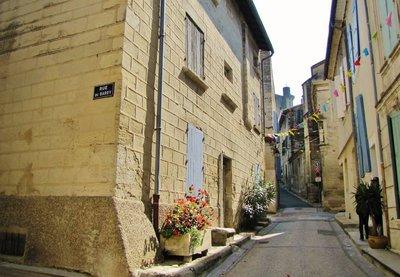City Street Scene, Barbentane