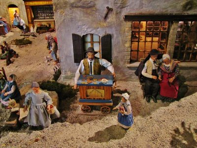 Santon Exhibit in La Petite Provence