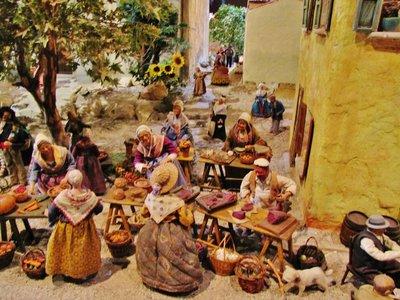 Santon Exhibit at La Petite Provence du Paradou