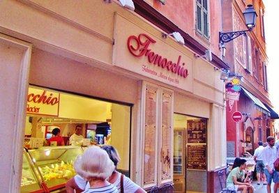 Fenocchio, a great gelato place