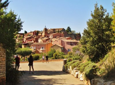 Roussillon, a Plus Beau Village of France