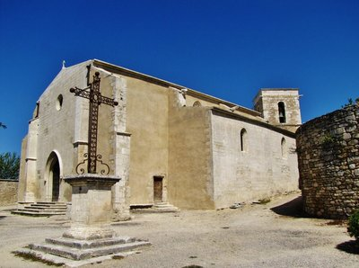 L'Eglise St Luc,  Ménerbes