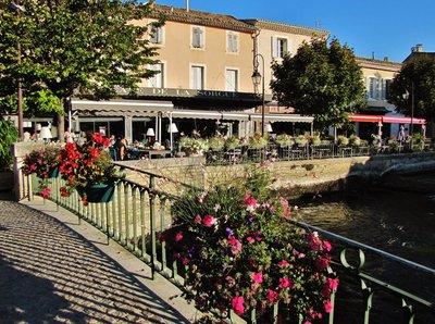 L'Isle-sur-la-Sorgue in Provence
