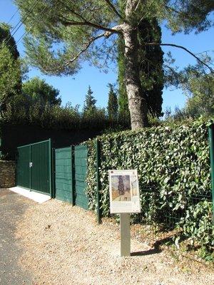 La Route au cyprès, #10 on the Van Gogh Walk